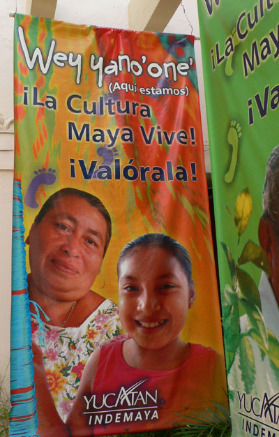 the campaing to value maya culture and people