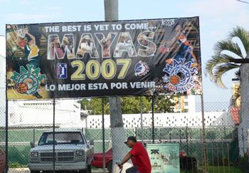 basketball team billboard, mérida