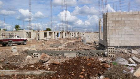 construction near the main road