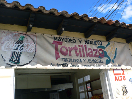 tortillas made by hand, from the machine.... ?