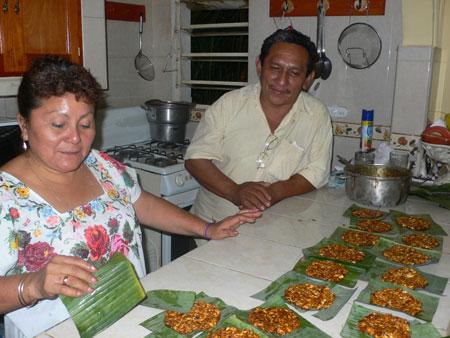 making honey sweets