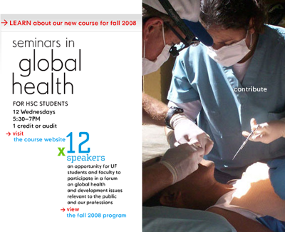 UF Global Health home page detail