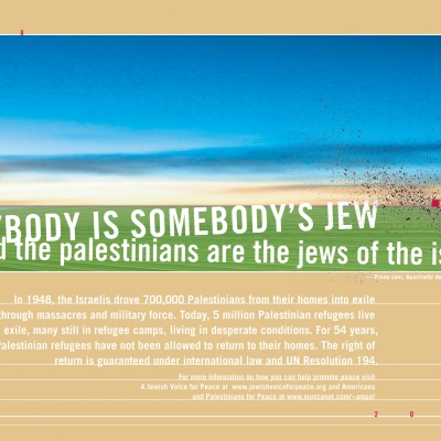 Everybody is somebody's Jew