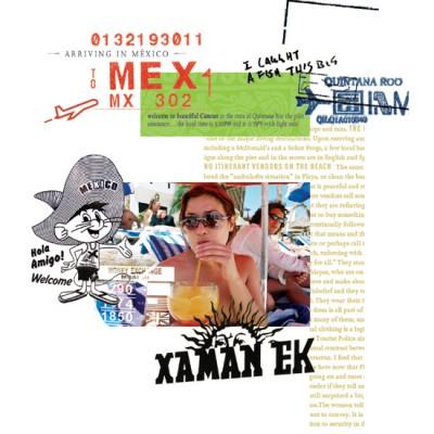 Hola Amigo (collage)
