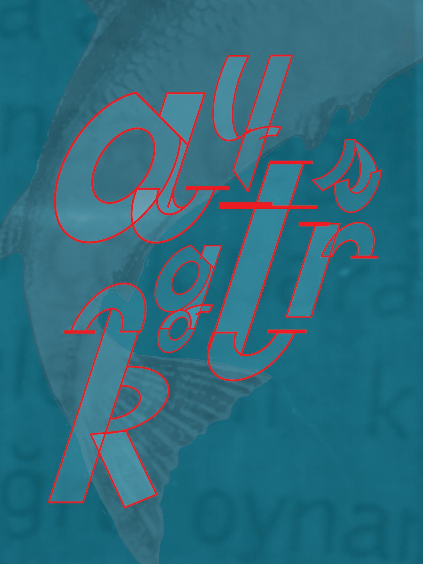 royalRed typeface