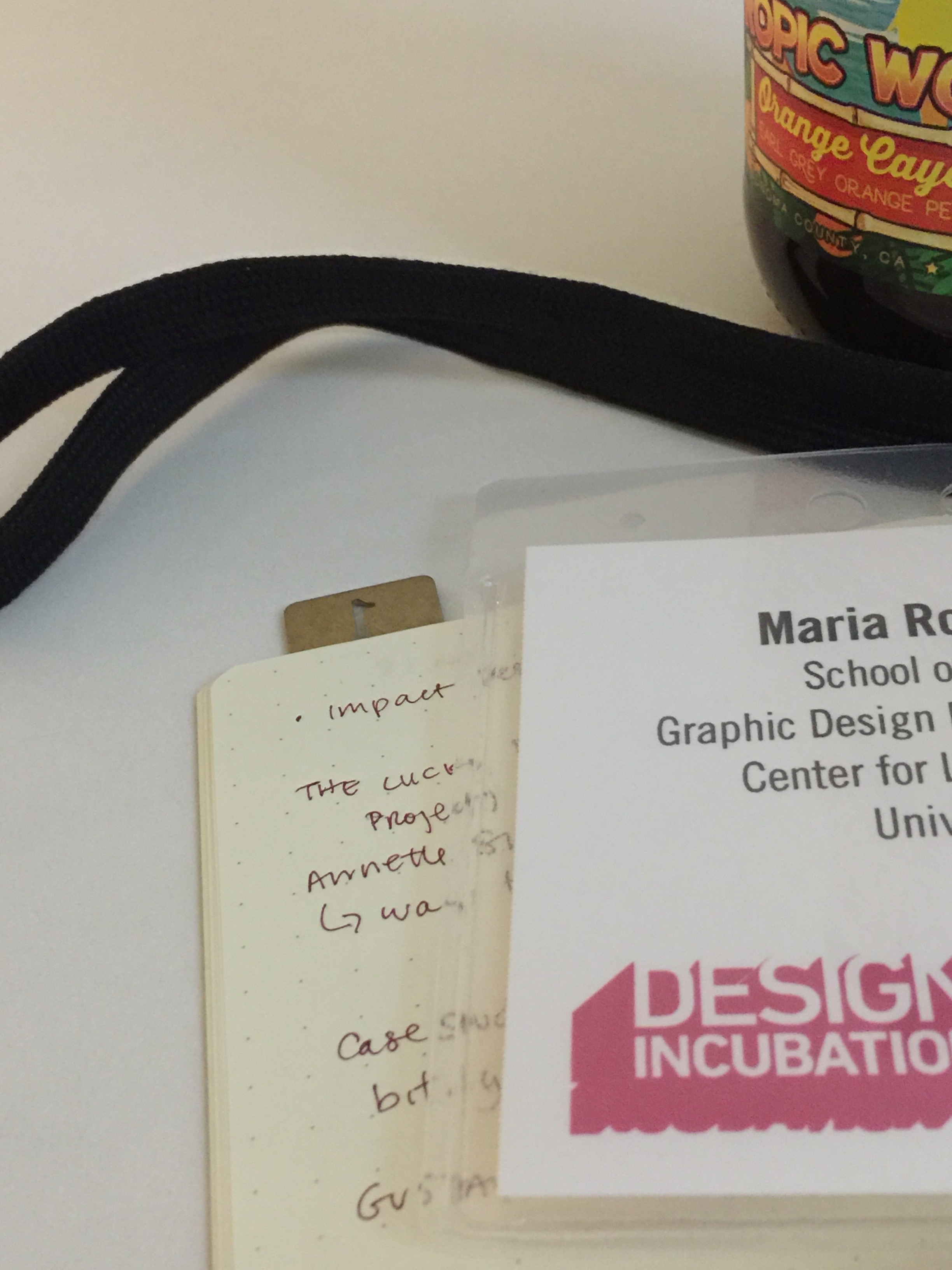 Design Incubation Nametag